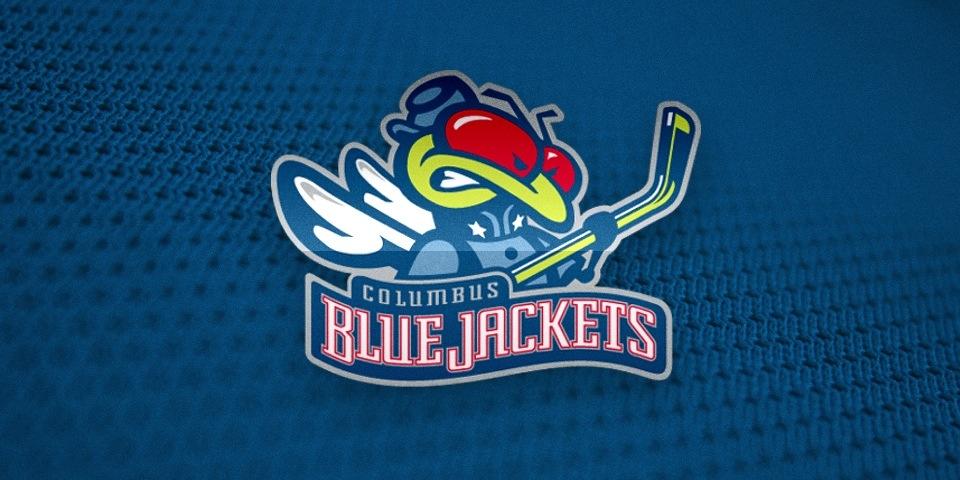 Columbus Blue Jackets logo by Ken Loh, 1997