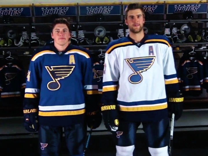 Video stills from  St. Louis Blues