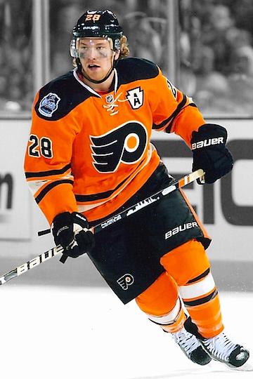 Flyers 2012 Winter Classic uniform