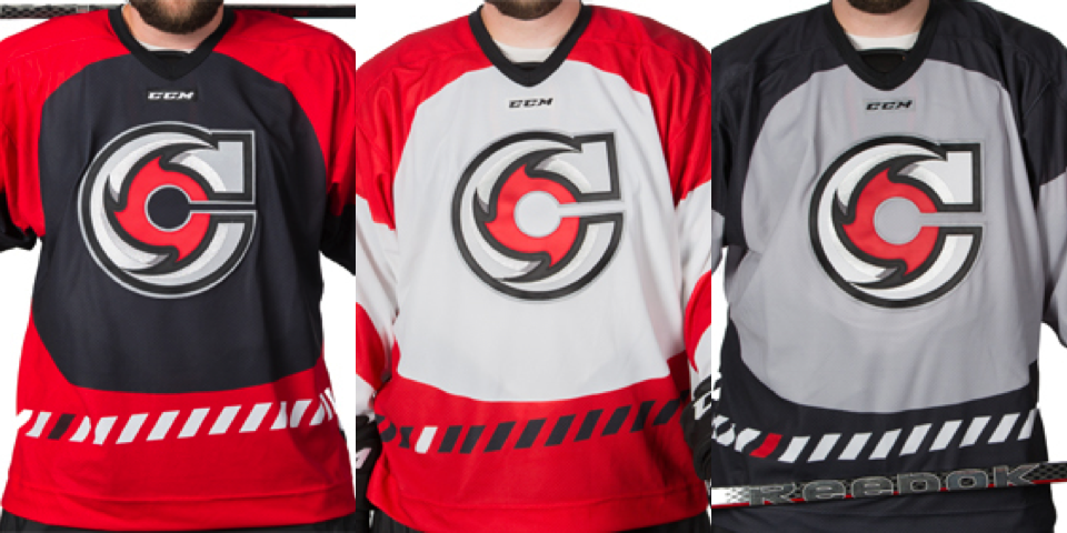 Cincinnati Cyclones jerseys, 2014—