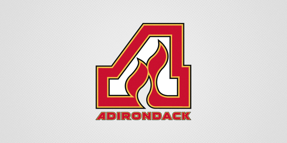 Adirondack Flames home jersey crest, 2014—