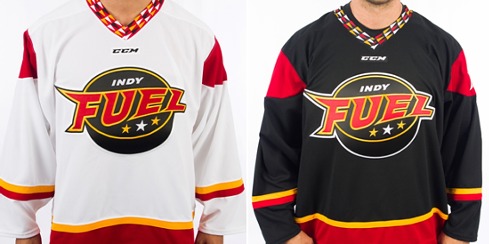 Indy Fuel jerseys, 2014—