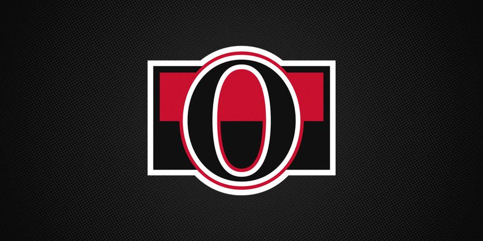 Binghamton Senators affiliate shoulder patch, 2014—