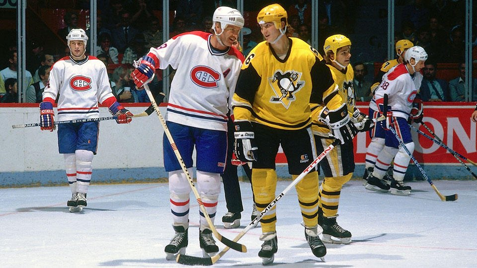 Pittsburgh Penguins home jersey, 1983-84
