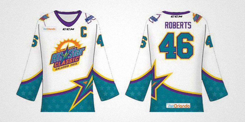 2015 ECHL All-Star Classic jersey by Jordan Roberts