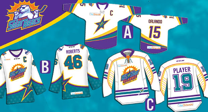 2015 ECHL All-Star Classic jersey finalists