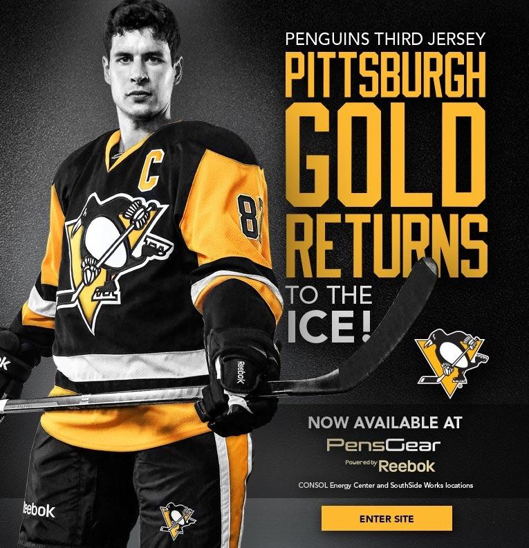 Splash image from Penguins website