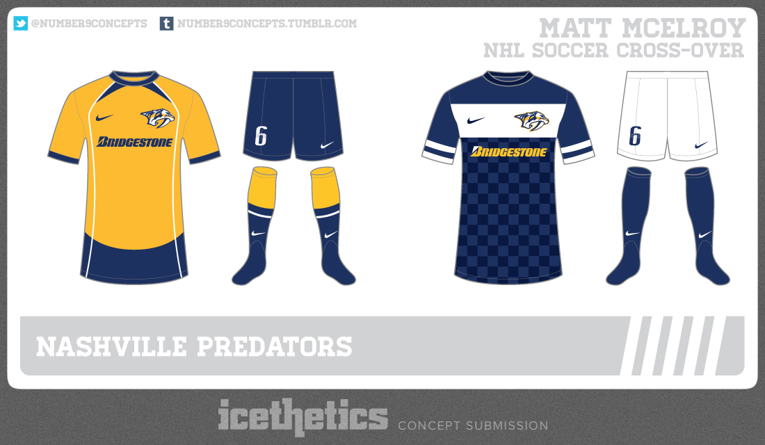 best website ad2c8 2aa20 NHL Teams Finally Get Awesome Crossover Soccer Jerseys