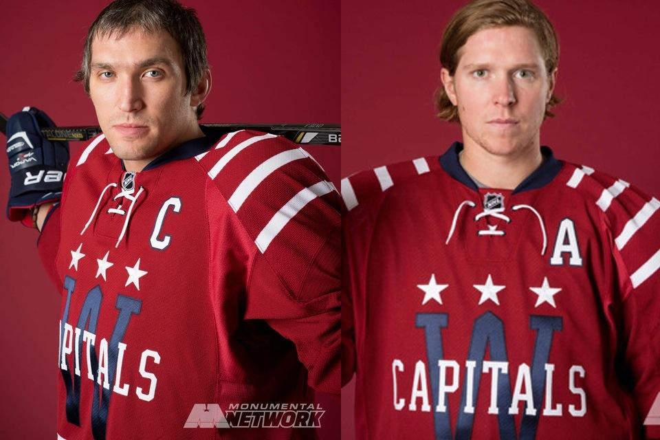 32bd8ab2a Capitals unveil all new 2015 NHL Winter Classic uniform — icethetics.co