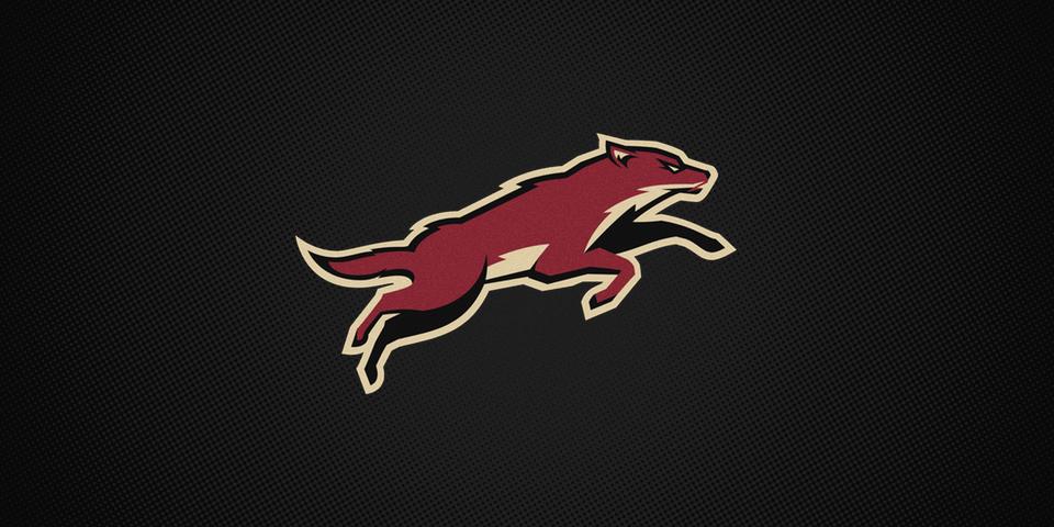 Phoenix Coyotes third jersey crest, 2008—2014