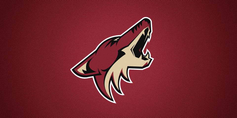 Arizona Coyotes primary logo, 2003