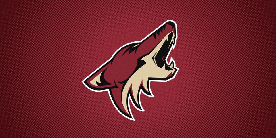 Arizona Coyotes primary logo, 2003