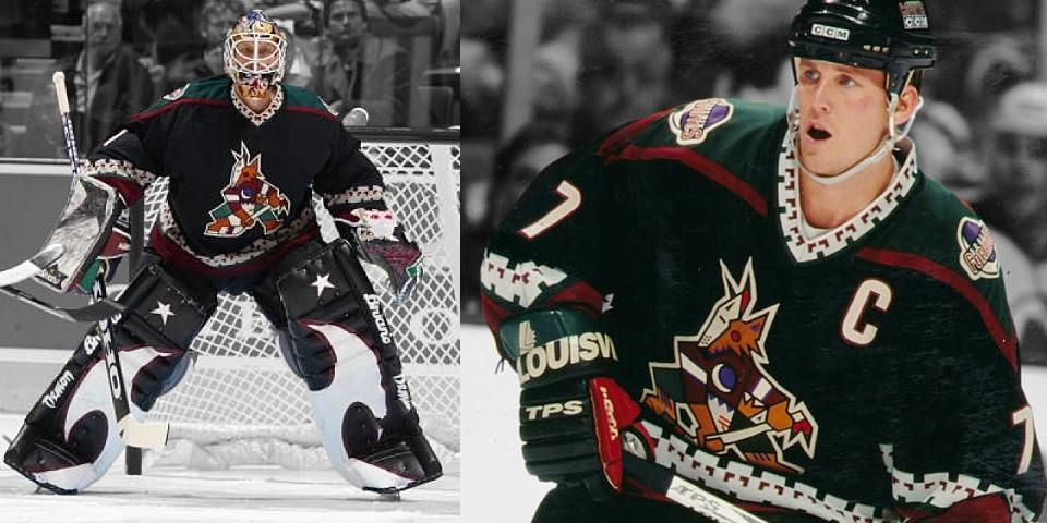 Phoenix Coyotes road uniform, 1996—2003