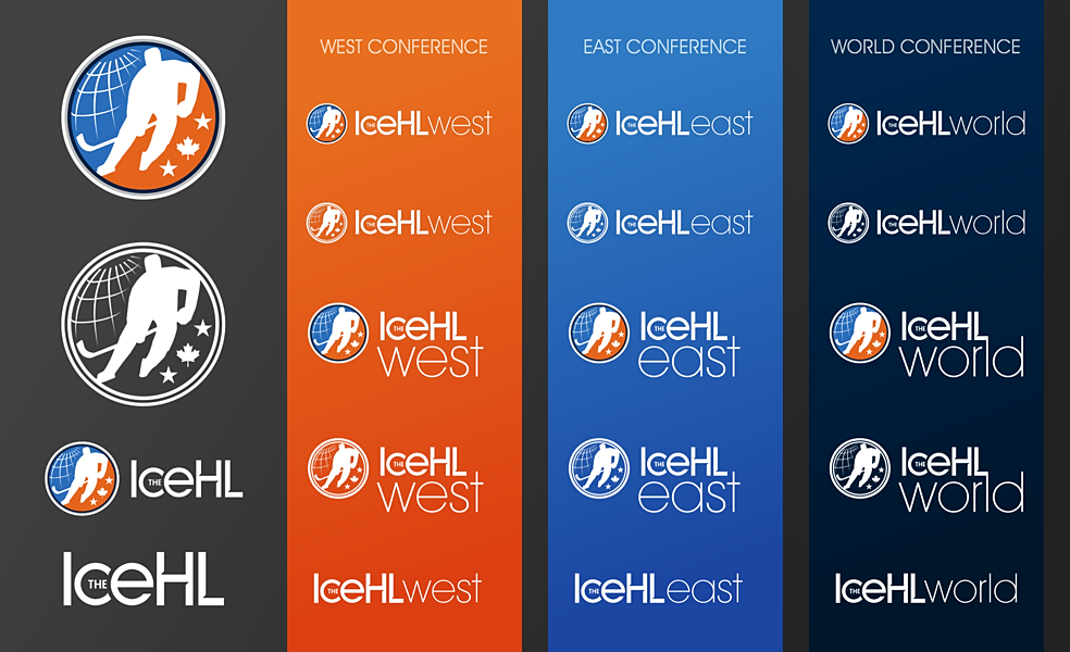 The IceHL unveils new logo treatments!
