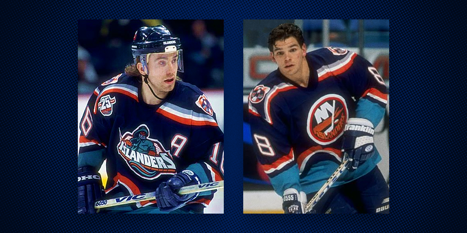 New York Islanders primary uniforms, 1996-97 and 1997-98