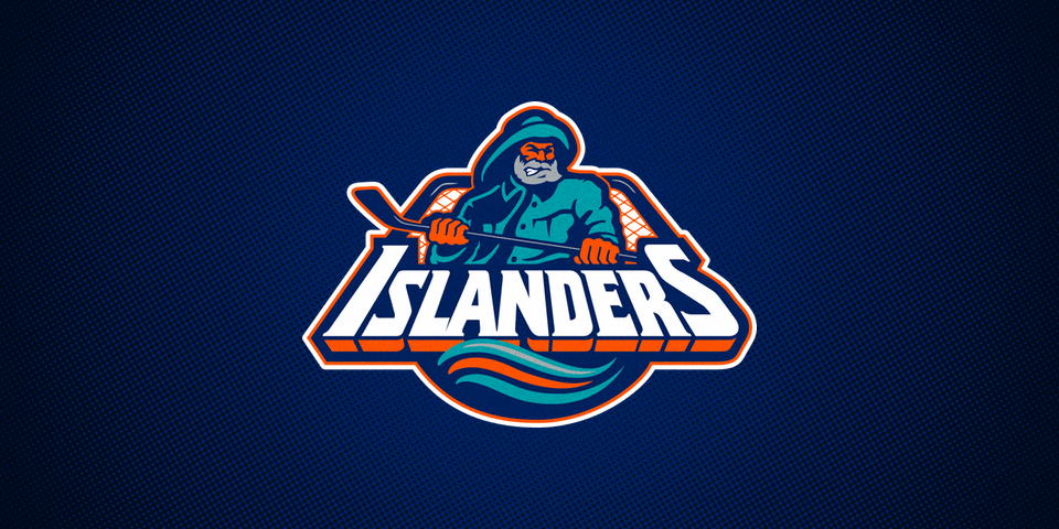 New York Islanders primary logo, 1995—1997