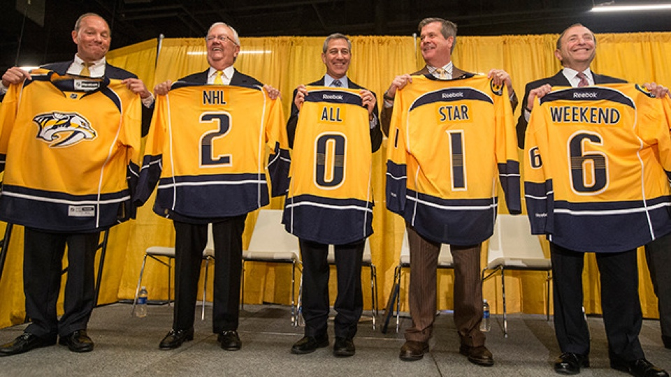 Photo from Nashville Predators
