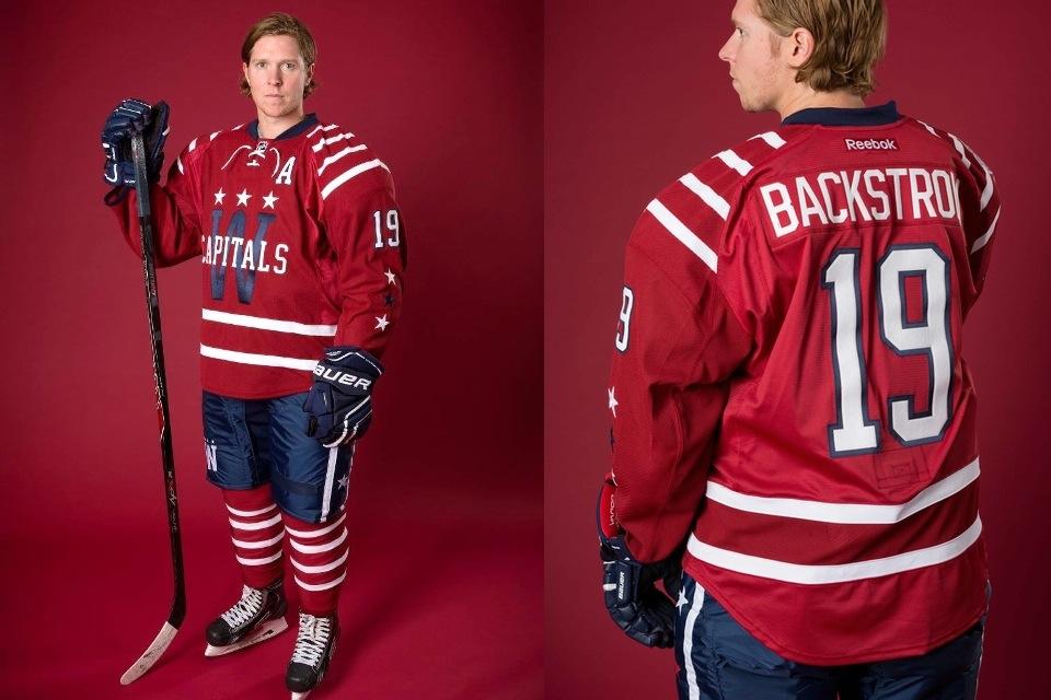 Washington Capitals' 2015 NHL Winter Classic uniform