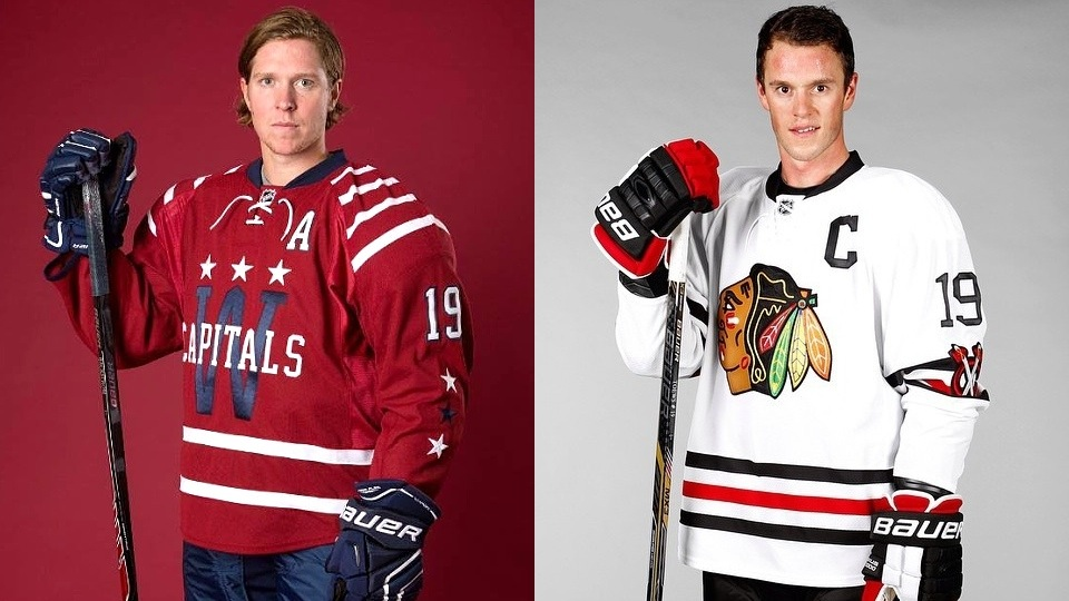 Uniforms for the 2015 NHL Winter Classic in Washington, D.C.