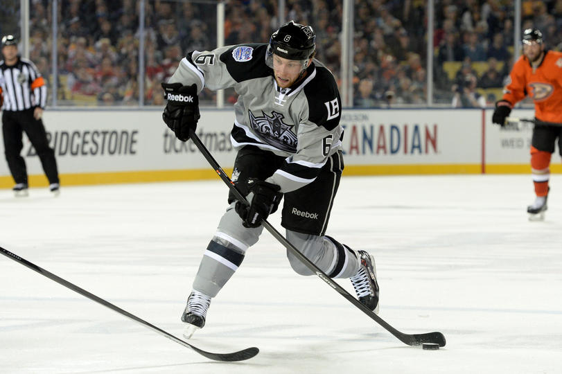 Kings' 2014 Stadium Series uniform