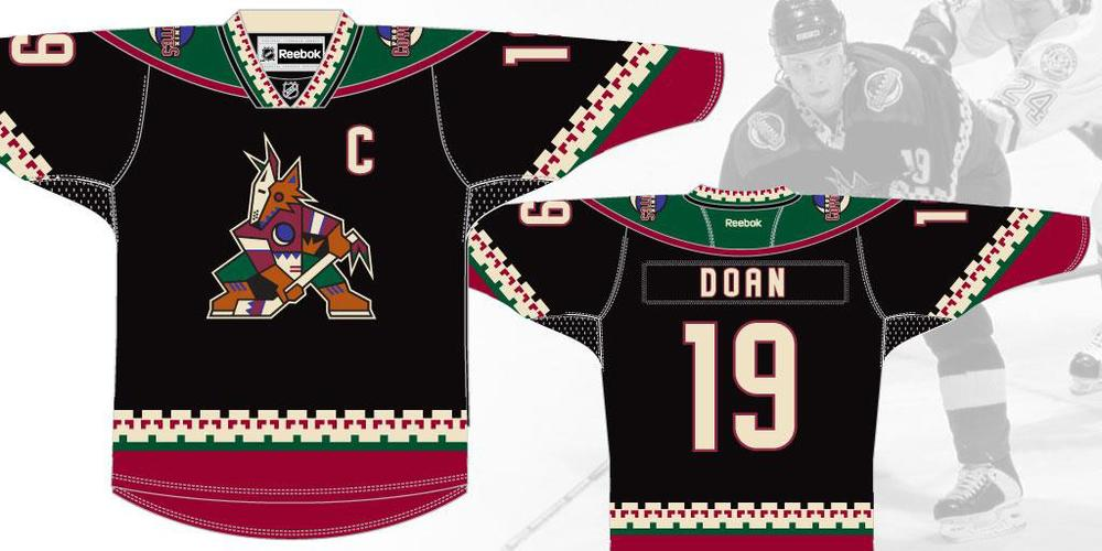 Check out the throwback jersey the Arizona Coyotes will wear on March 5.