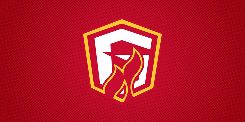Gwinnett Gladiators third jersey crest, 2015—