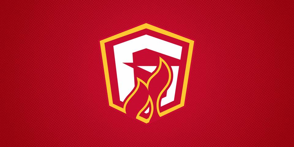 Gwinnett Gladiators third jersey crest, 2015—