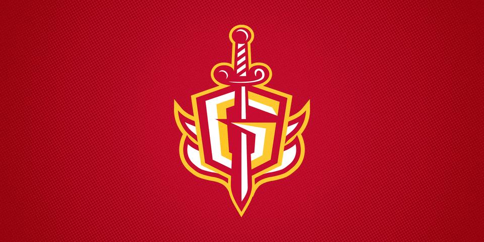 Gwinnett Gladiators third jersey shoulder patch, 2015—