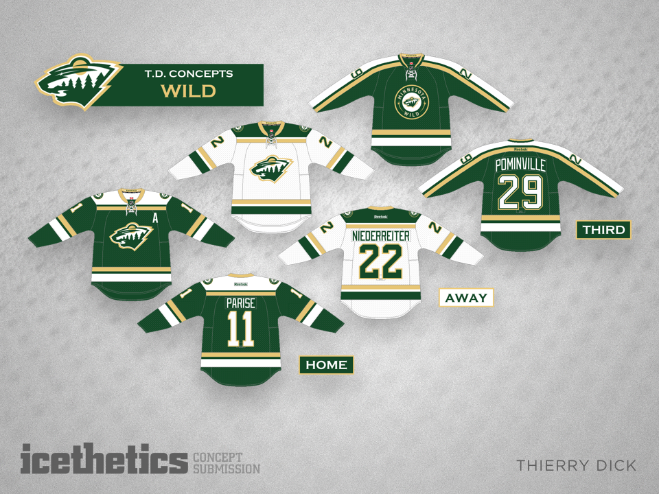What do you think of Thierry Dick s simplified color palette for the Minnesota  Wild  8396d86f1