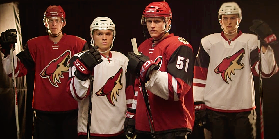 Video stills from Arizona Coyotes