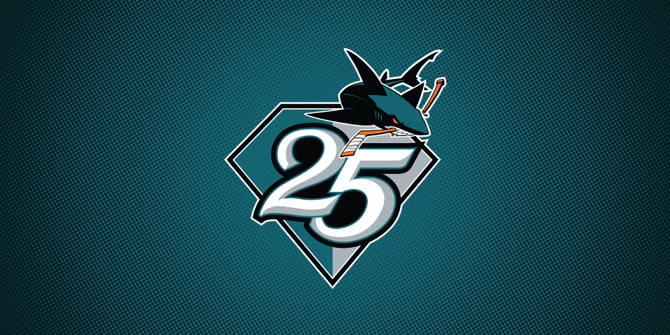 watch ef9a8 29d34 Sharks will wear 'heritage jersey' during 25th anniversary ...