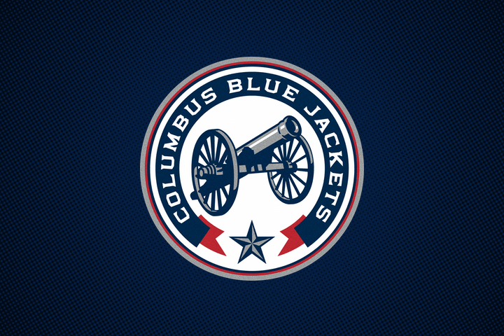 Blue Jackets Cannon Logo | Outdoor Jacket