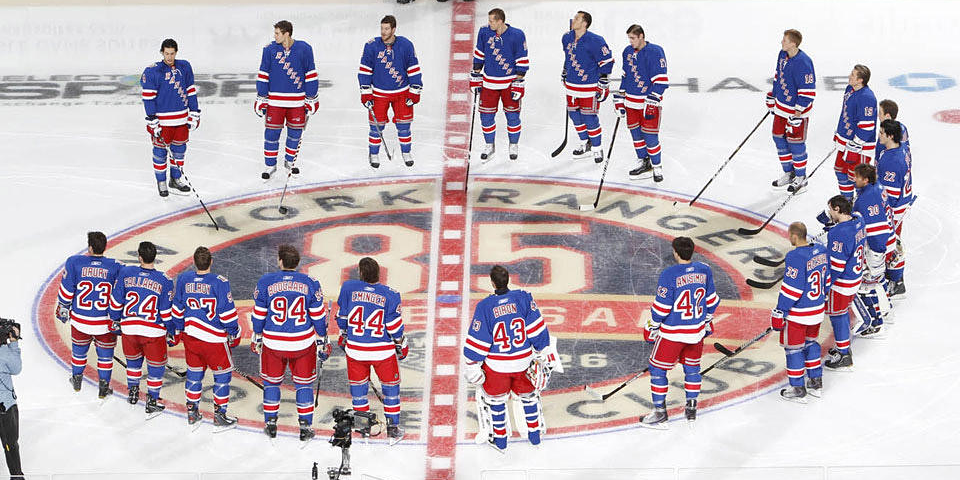 File 2010 / via New York Rangers