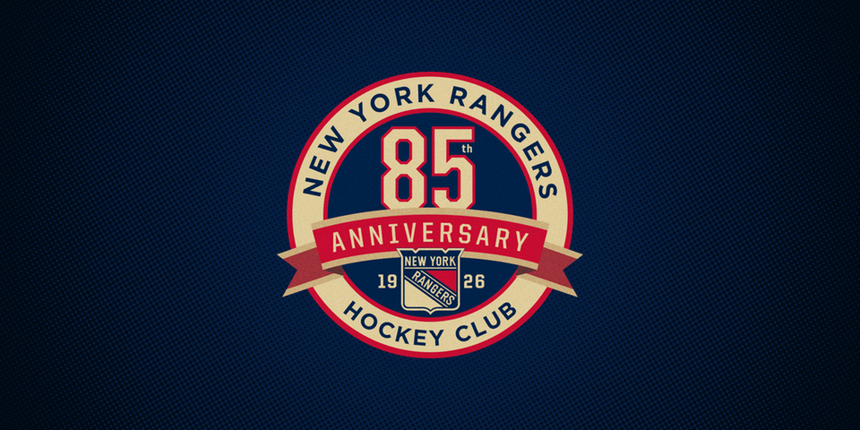 Official Rangers 85th anniversary secondary logo
