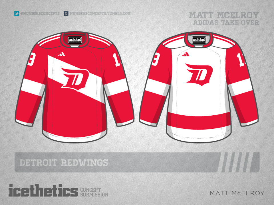 But I hope everyone is ready for the Age of Adidas. Matt McElroy presents  this three-striped set for the Red Wings based ... d2e586e2f