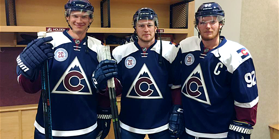Photo from Colorado Avalanche  via Twitter