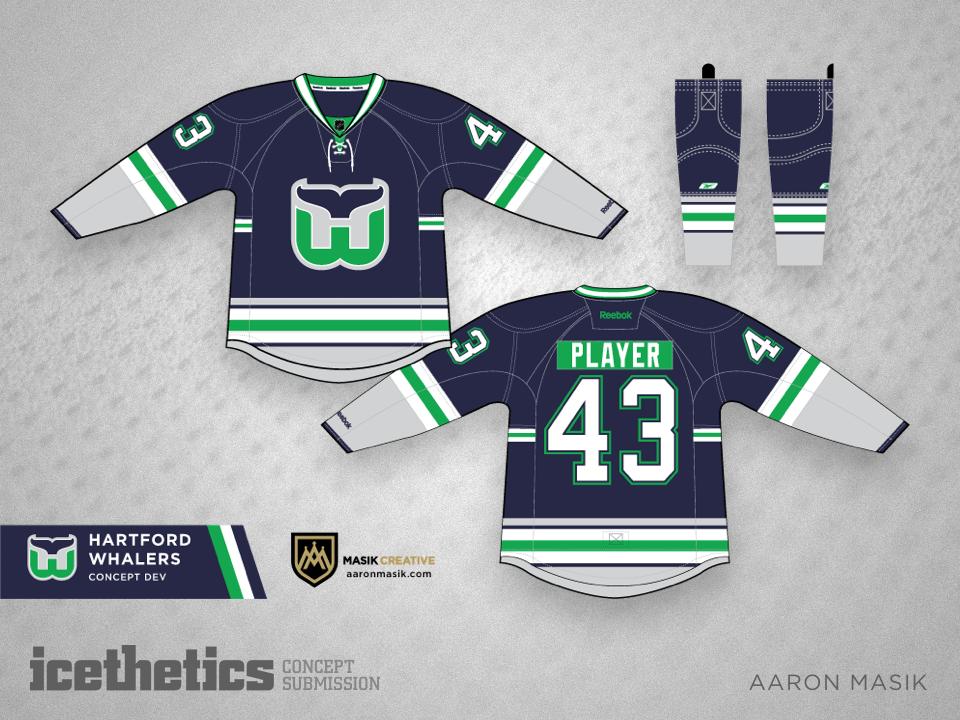 hartford whalers jersey concept 0e253c968c6