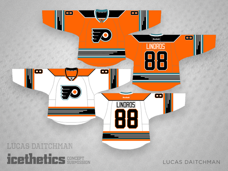 7c478b7d5 ... australia lucas daitchman imagines a 90s throwback jersey that never  was for the philadelphia flyers u2014 ...