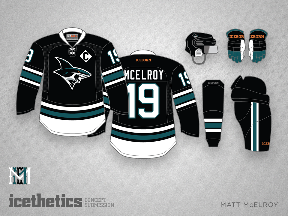 With the release of the San Jose Sharks  new secondary logos 64df23bc4