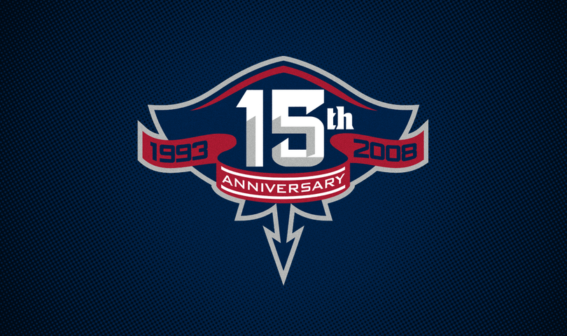 South Carolina Stingrays, 15th anniversary