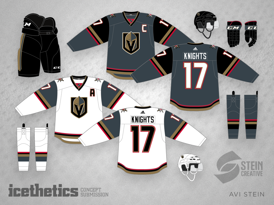Fan almost perfectly predicted Golden Knights jerseys six months before the  unveil - Article - Bardown 71e3a6bbf