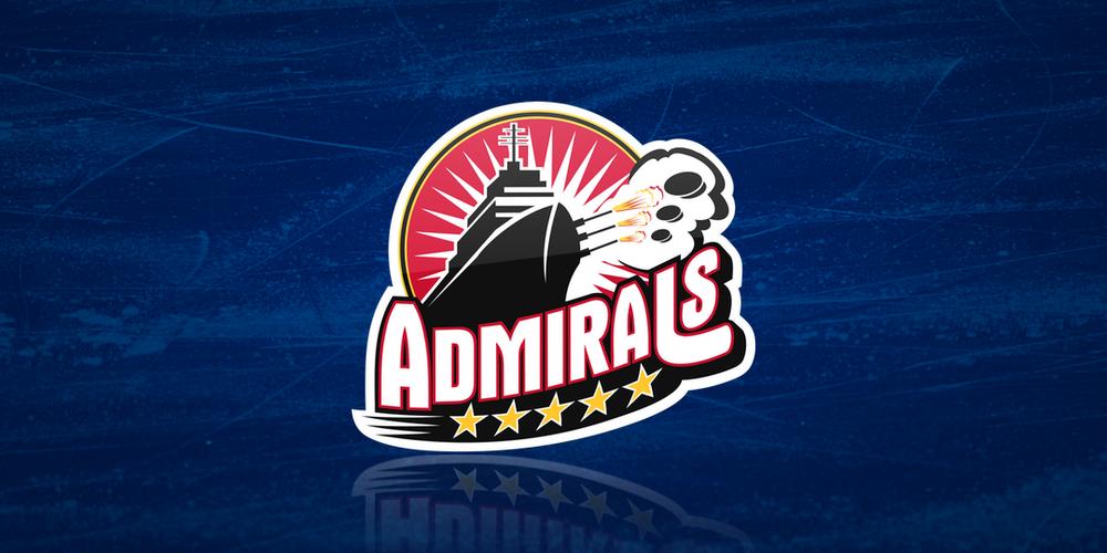 Norfolk Admirals logo, 2004—2017 (AHL/ECHL)