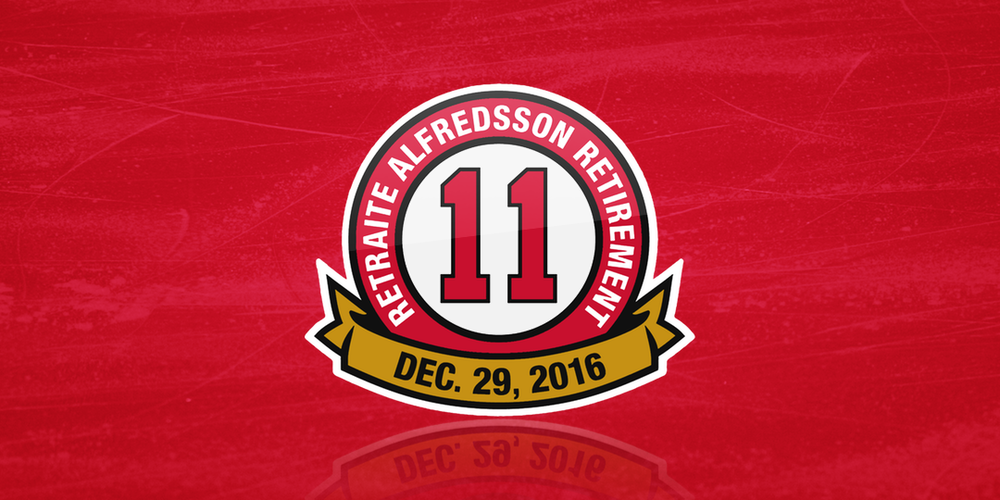Alfredsson #11 Retired
