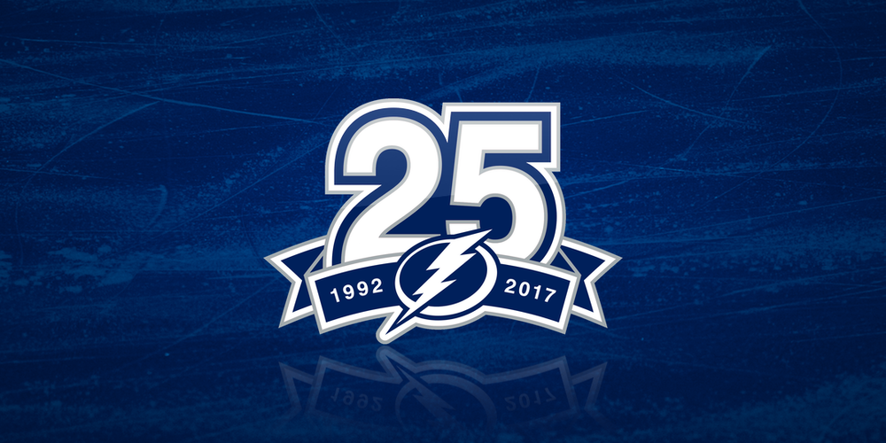 Tampa Bay Lightning: 25th