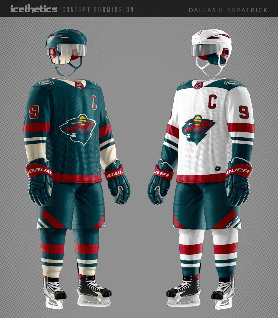 ... a hockey sweater I ve never seen before look like one that s been  around for decades. His latest is a Minnesota Wild set that I am just crazy  about. 8c4ad408d
