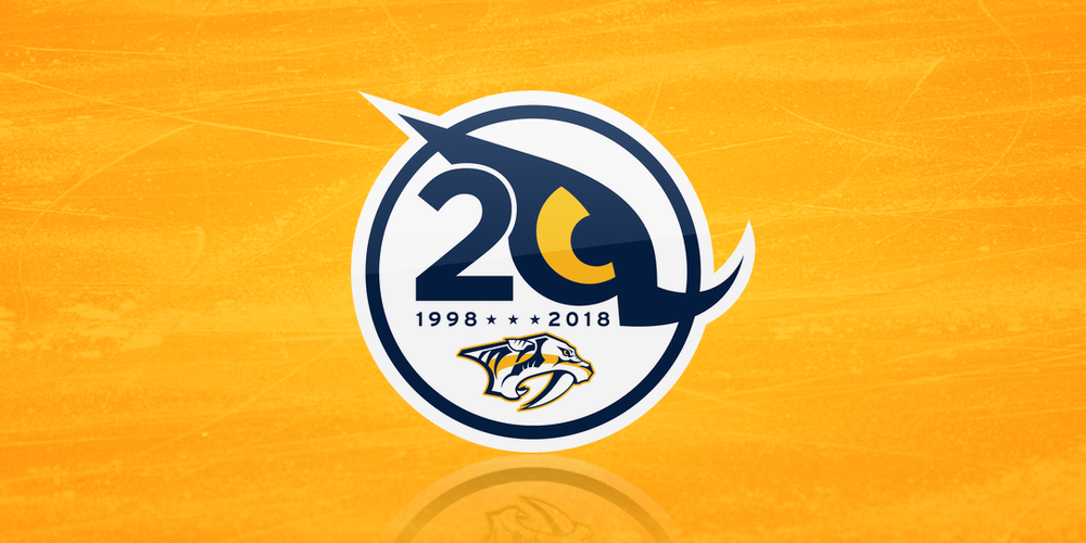 Nashville Predators: 20th