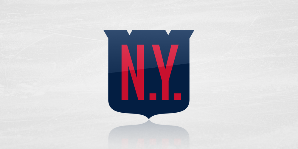 finest selection 63c21 3ddfc The Sabres' and Rangers' logos for the Winter Classic have a ...