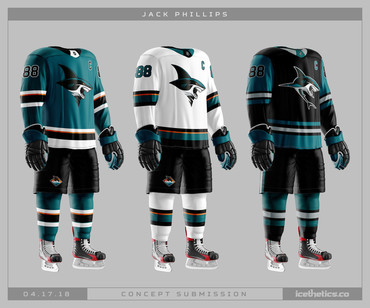 huge discount e3813 fff9e San Jose Sharks release their 3rd jersey | Page 4 | HFBoards ...