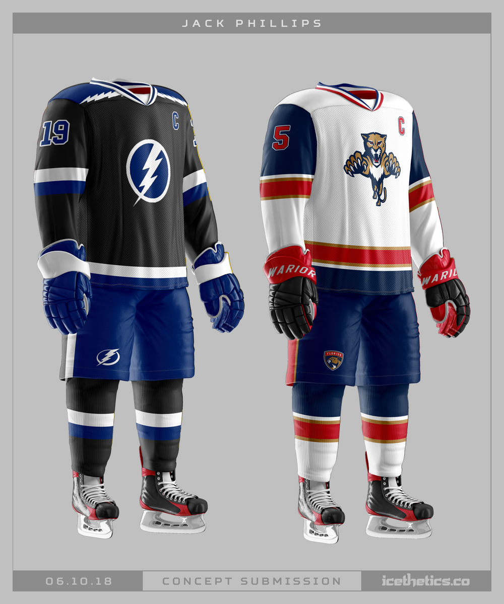5d84a39b918 ... and bring the Bolts and Cats together. I'm not sure they could really  wear anything but their original jerseys from the '90s — but these aren't  bad ...