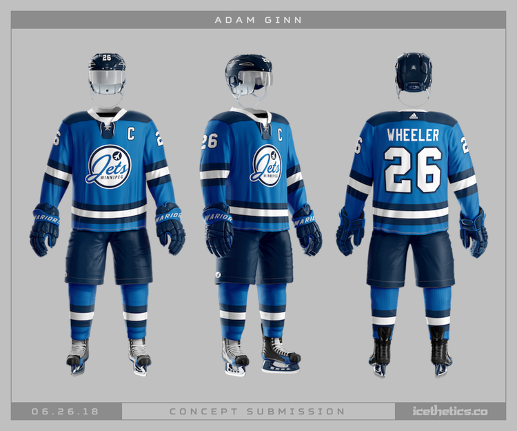 f02eb032826 Speculation  - Winnipeg Jets to get 3rd Jersey next season - with a ...